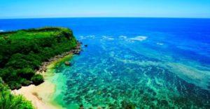 北谷戸建てホテルから行く☆宮城島のプライベートビーチ